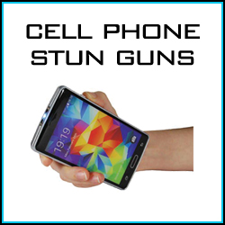Cell phone stun gun personal self defense products.