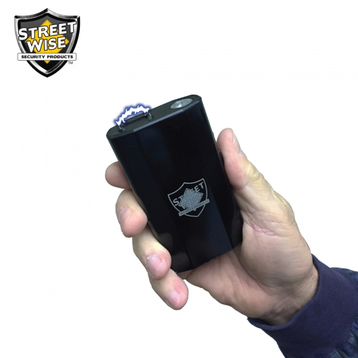 3 in 1 charger 28 million volt stun gun with power bank and
