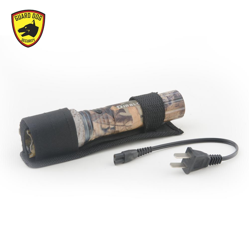Guard Dog Diablo 45 Million Volt Rechargeable Tactical Stun Flashlight High Voltage Gun The Is A Self Defense Device With Ultra Bright