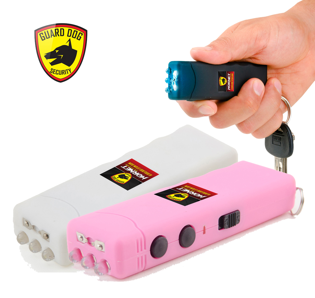 Stun Guns Guard Dog Hornet 6 Million Volt Rechargeable Mini Keychain ...