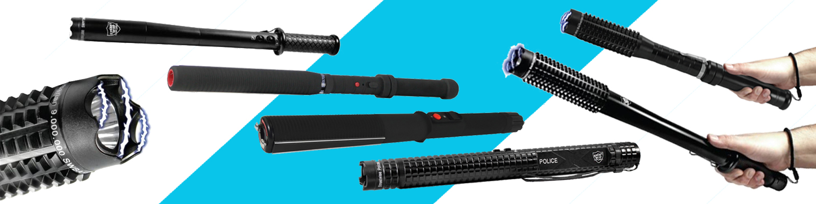 Stun batons, Free Stun Gun Defense Guide with every purchase.