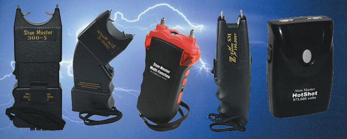 Stun guns are powerful, close range self defense that are convenient and easy to use.