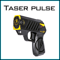 Taser Pulse personal self defense products.