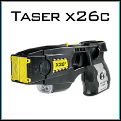 Taser X26C personal self defense products.
