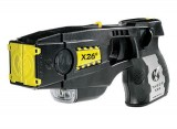 X26C TASER with Laser Sight & Digital Power Magazine, Black with Silver Grip