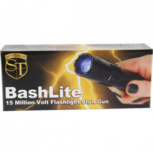 BashLite 15 Million Volt Rechargeable Stun Flashlight ...