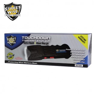 Touchdown 7 5 Million Volt Rechargeable Stun Gun Stun