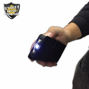 Just in Case you need it, this device is a powerful stun gun, a power bank, a bright LED flashlight, a mirror and holds two credit cards.