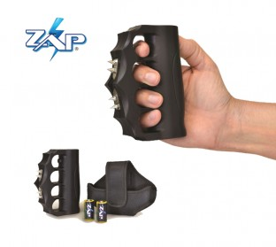 The Blast Knuckles EXTREME is a high voltage stun gun featuring 4 sharp electrodes for even greater protection and provide a way to collect DNA evidence.