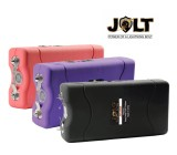JOLT 46 Million Volt Rechargeable Mini Stun Gun, Choose Color