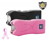 Streetwise Life Guard 6.5 Million Volt Rechargeable Stun Gun, Black or Pink
