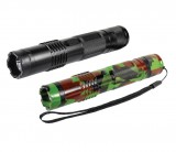 BashLite 15 Million Volt Rechargeable Stun Flashlight, Choose Color