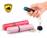 Guard Dog Electra 3 Million Volt Rechargeable Lipstick Keychain Stun Gun w/Flashlight