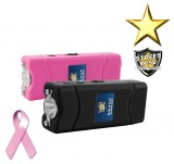 SMACK 6 Million Volt Rechargeable Stun Gun, Black or Pink